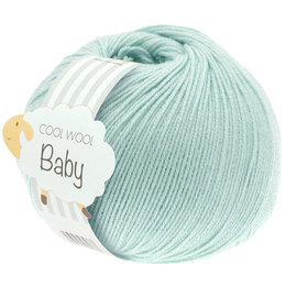 Lana Grossa Cool Wool Baby 257 - Licht Turquoise