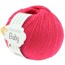 Lana Grossa Cool Wool Baby 269 - Framboos