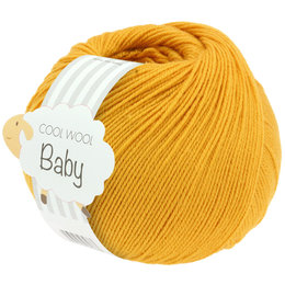 Lana Grossa Cool Wool Baby 280 - Oranje Geel