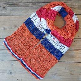Caro's Atelier Haakpatroon Caro's Juich sjaal (digitaal)