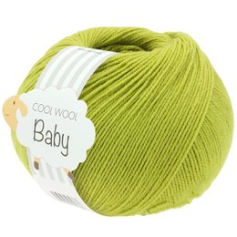 Lana Grossa Cool Wool Baby 286 - Licht Olijf
