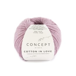 Katia Cotton In Love 53 - Bleekrood
