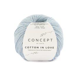 Katia Cotton In Love 65 - Licht blauw
