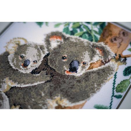 Vervaco Borduurpakket Koala met Baby