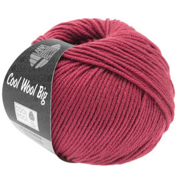 Lana Grossa Cool Wool Big 976 - Kardinaalrood