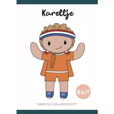 Caro's Atelier Haakpatroon Holland Outfit Kareltje (boekje)