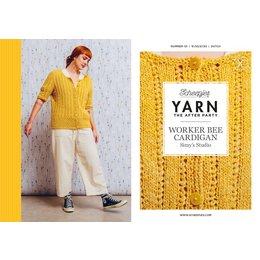 Scheepjes Yarn afterparty 121: Worker Bee Cardigan