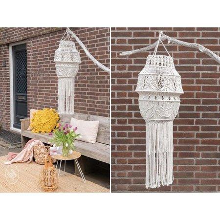Durable Macramépatroon Garden Summer Macramé Lamp