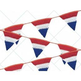 Durable Haakpatroon Hollandse Vlag