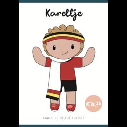 Caro's Atelier Haakpatroon België Outfit Kareltje (digitaal)