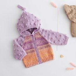 Lana Grossa Breipakket: Jasje Cool Wool Baby & Baby Degrade (02-01)