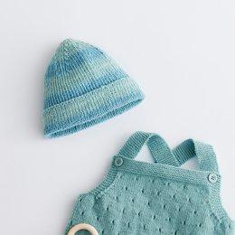 Lana Grossa Breipakket: Mutsje Cool Wool Baby Degrade (02-28)