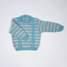 Lana Grossa Breipakket: Trui Cool Wool Baby (02-23)