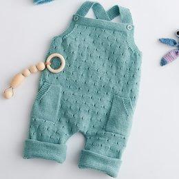Lana Grossa Breipakket: Tuinbroek Cool Wool Baby (02-29)