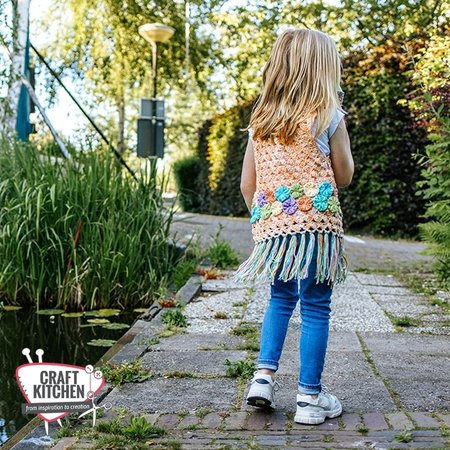 Durable Haakpatroon: Zomers Kindervestje