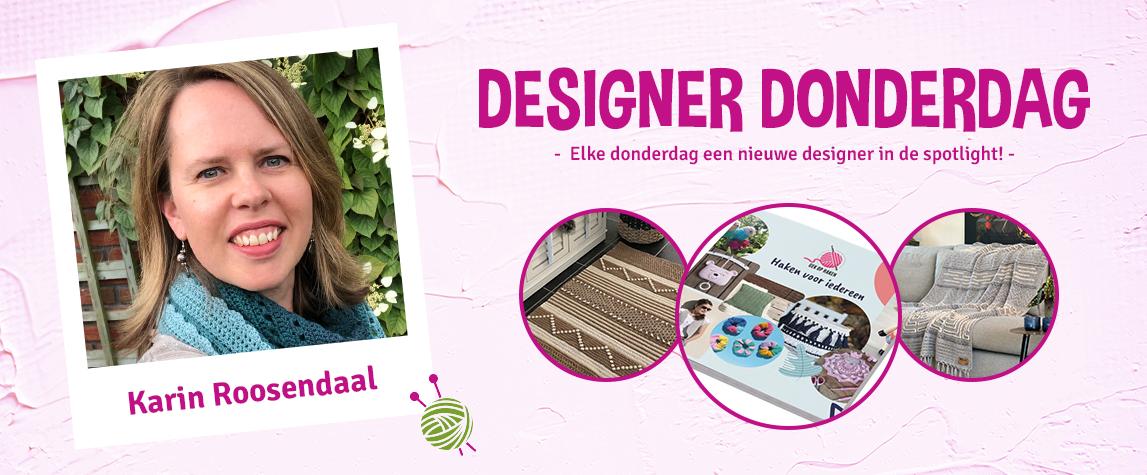 Designer Donderdag: Karin Roosendaal van Gek op Haken
