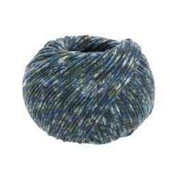 Lana Grossa Cool Merino Print 104 - Donker Blauw/Licht Blauw/Omber