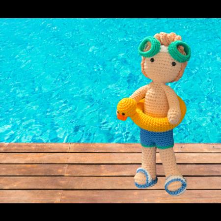 Haakpakket: Zwem outfit Kareltje