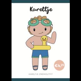 Caro's Atelier Haakpatroon Zwem Outfit Kareltje (boekje)
