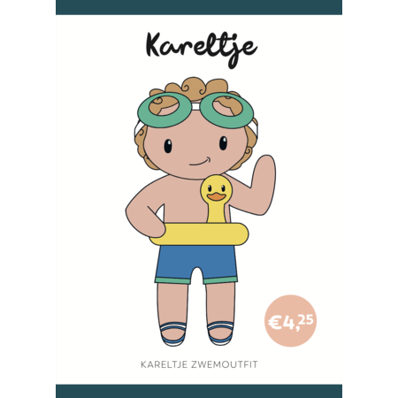Caro's Atelier Haakpatroon Zwem Outfit Kareltje (digitaal)
