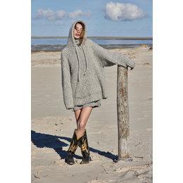 Lana Grossa Breipakket: Capuchontrui Alpaca Moda (11-7)