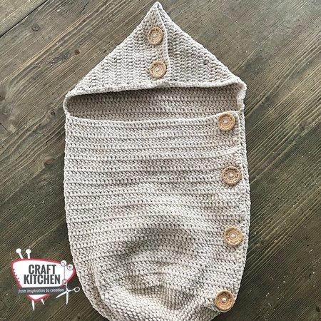 Durable Haakpatroon Baby Cocon Slaapzak