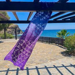 Caro's Atelier Haakpakket Granada Grotten Sjaal