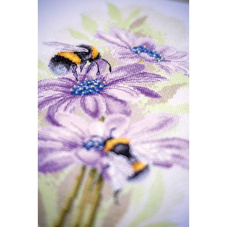 Lanarte Borduurpakket Dansende bijen