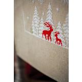 Vervaco Borduurpakket Tafelloper Winter in het bos