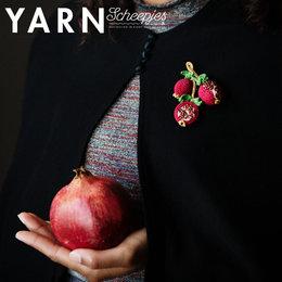 Scheepjes Garenpakket: Pomegranate Brooch - Yarn 12