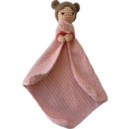 Garenpakket: Knuffeldoekje - Carolientje Baby Cadeautjes Haken