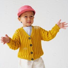 Lana Grossa Breipakket: Vest Cool Wool (KIDS-26)