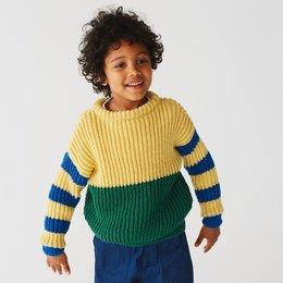 Lana Grossa Breipakket: Trui Cool Wool (KIDS-29)