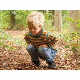Durable Breipatroon: Happy Stripes Kindertrui