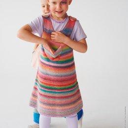 Lana Grossa Breipakket: Jurk Colorissimo (KIDS-28)