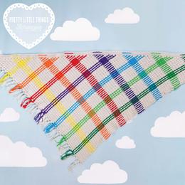 Scheepjes Haakpakket: Rainbow Tartan Wrap