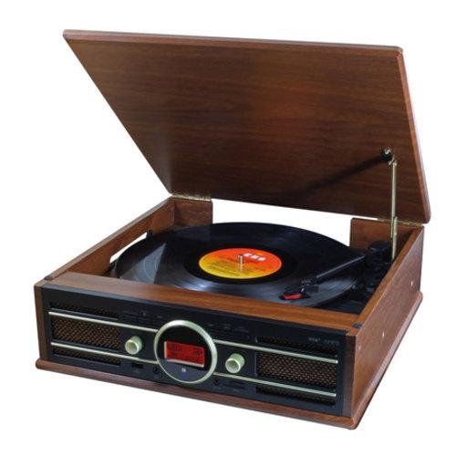 Soundmaster Soundmaster Elite Line PL585 Retro Platenspeler DAB+ Bruin