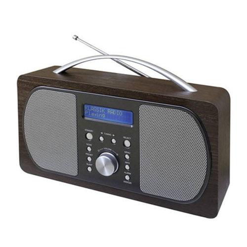 Soundmaster Soundmaster DAB600DBR Retro Radio DAB+ Donkerbruin