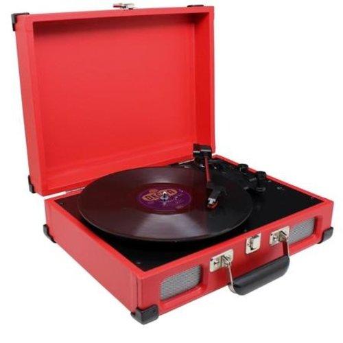Soundmaster Soundmaster PL580RO Platenspeler Rood