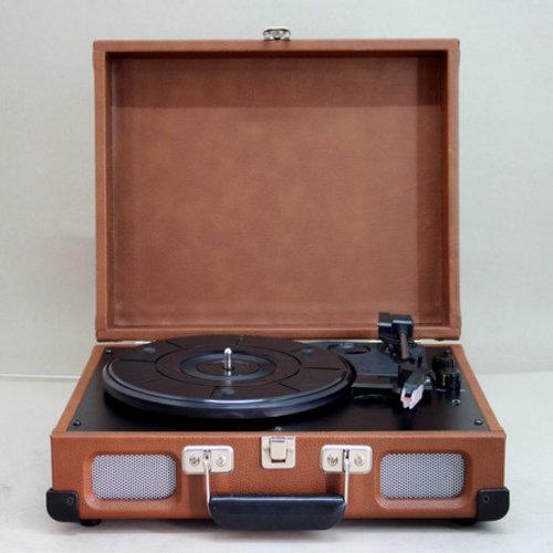 Soundmaster Soundmaster PL580BR Platenspeler Bruin