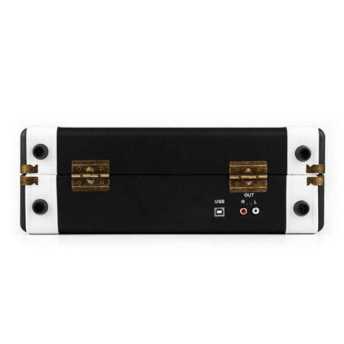 Auna Auna Jerry Lee Retro Platenspeler USB Zwart