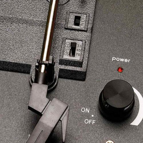 Denver Denver VPL-120 Retro USB Platenspeler Rood