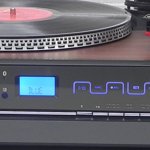 MPMAN HiFi Nostalgia 200 Retro Platenspeler Bruin