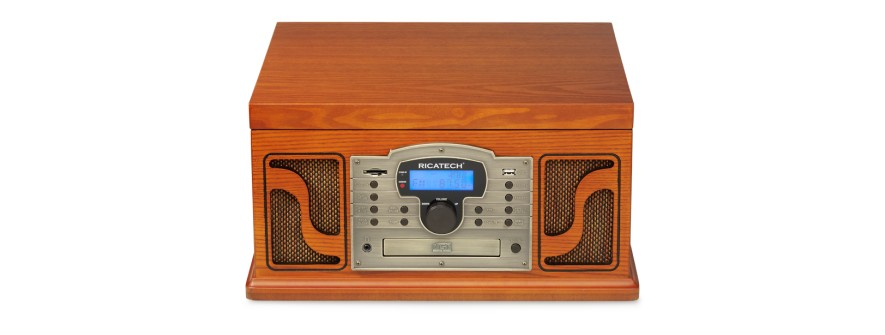 Ricatech RMC250 PAPRIKA 6 IN 1 MUSIC CENTER