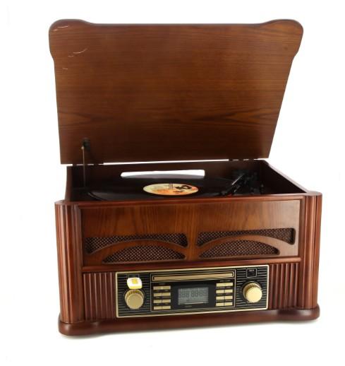 MP-man Nostalgia 100 Muziekcenter met Platenspeler