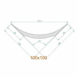 NMC Nomastyl Pure NE4 (100 x 100 mm), lengte 2 m