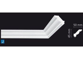 NMC Kroonlijst Nomastyl J+ (45 x 50 mm), lengte 2 m