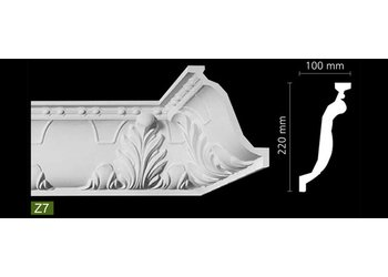NMC Arstyl Z7 (220 x 100 mm), lengte 2 m