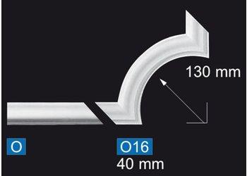 NMC Nomastyl Hoekbocht O16, set (= 4 stuks)