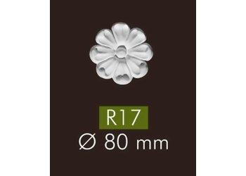 NMC Arstyl R17 Rozetten diameter 8 cm, set (= 4 stuks)